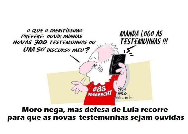 000 lula ameaça Moro